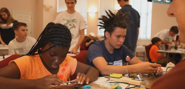 The Maker Camp we hosted this past summer is featured in a new Kickstarter campaign documenting the Maker movement! Please take a look and consider supporting the campaign to help […]